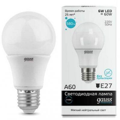распродажа ламп GAUSS